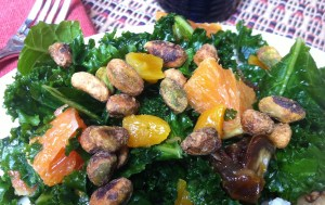 Moroccan Kale and Citrus Salad (A Seat at the Table)