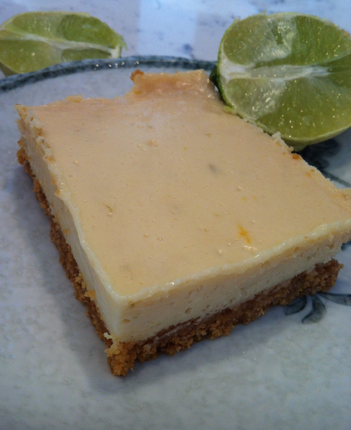 Key Lime Pie Bars (A Seat at the Table)