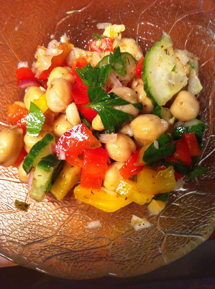 Lebanese Chickpea Salad (A Seat at the Table)