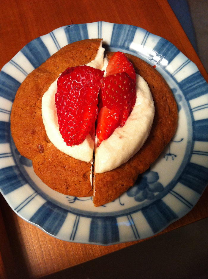 Stawberry and Cream Brown Sugar Cookie (A Seat at the Table)