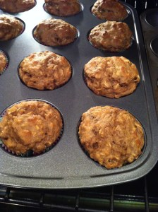 Banana Oat Walnut Muffins (A Seat at the Table)