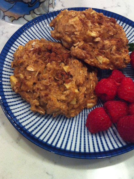 Apple Oatmeal Breakfast Cookies (A Seat at the Table)