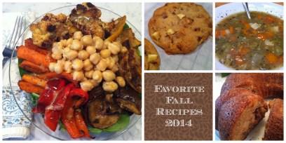 Fall Recipes 2014