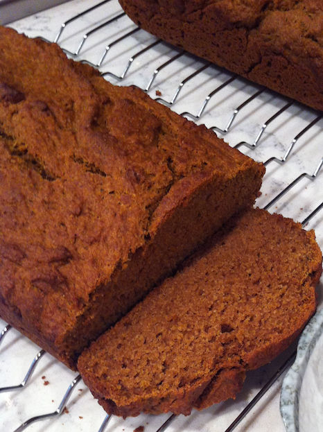 Pumpkin Spice Bread (A Seat at the Table)