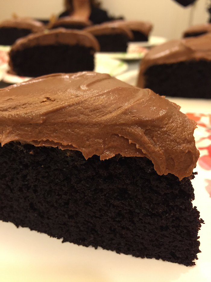 Nutella Dark Chocolate Cake (A Seat at the Table)