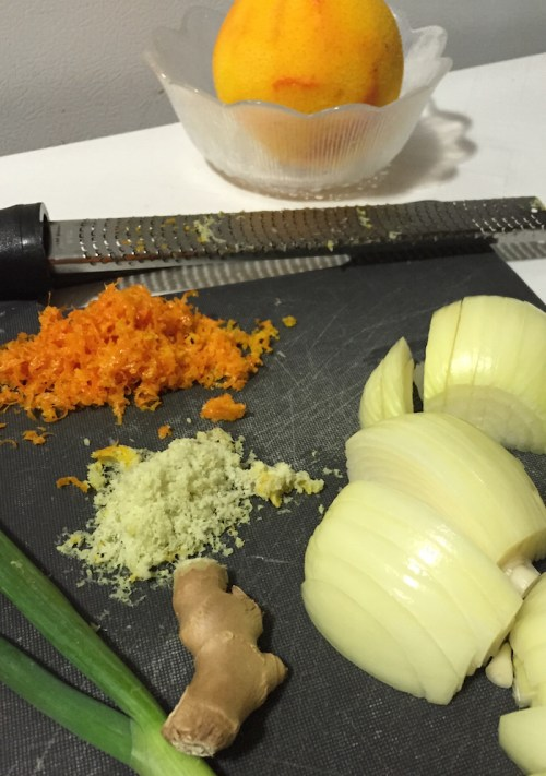 Orange Chicken Ingredients (A Seat at the Table)
