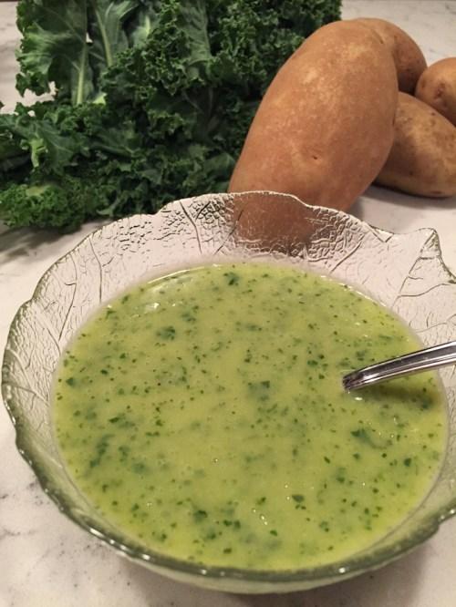 Potato Kale Soup (A Seat at the Table)
