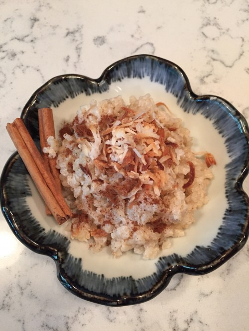Coconut Brown Rice Pudding (A Seat at the Table)
