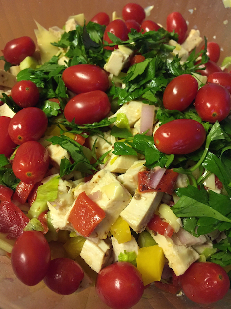 Mediterranean Chicken Salad Thumbnail (A Seat at the Table)