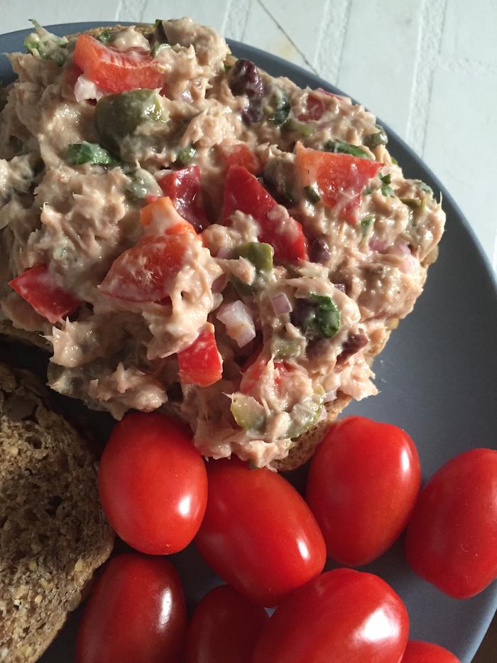 Mediterranean Tuna Salad (A Seat at the Table)