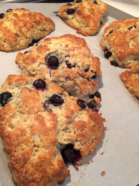 Big Blueberry Scones (A Seat at the Table)