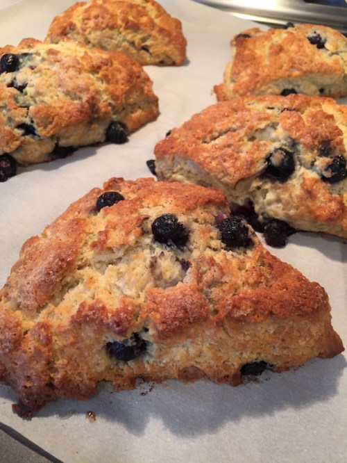 Blueberry Scones (A Seat at the Table)