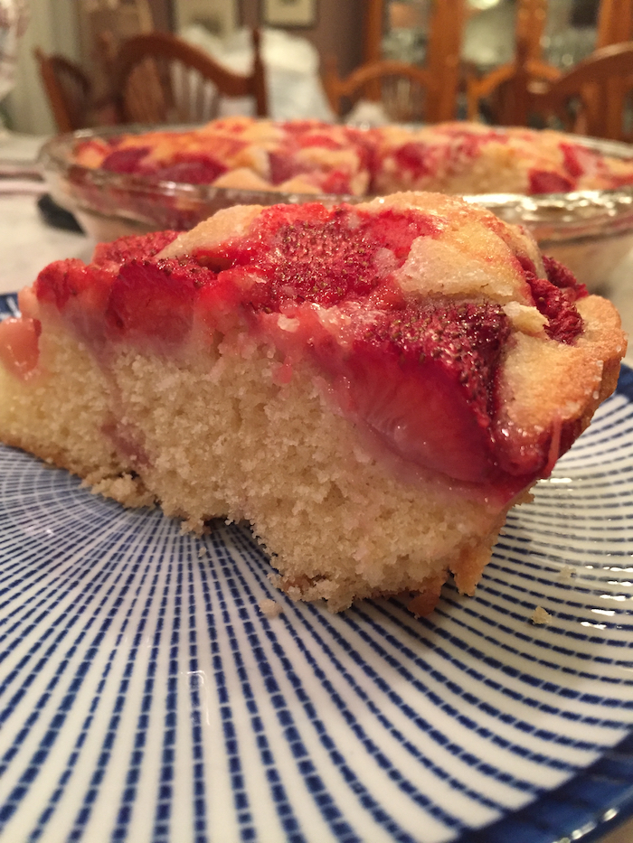 Strawberry Summer Cake (A Seat at the Table)