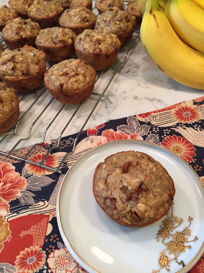 Cinnamon Chip Banana Muffins (A Seat at the Table)