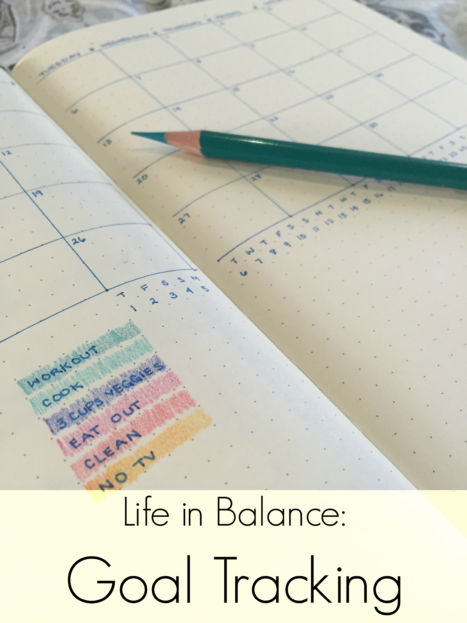 Life in Balance: Goal Tracking (A Seat at the Table)