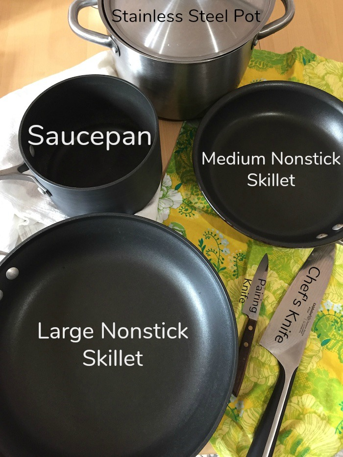 Cooking Supplies: Cooking 101 (A Seat at the Table)
