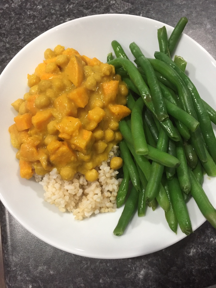Chickpea & Sweet Potato Curry (A Seat at the Table)