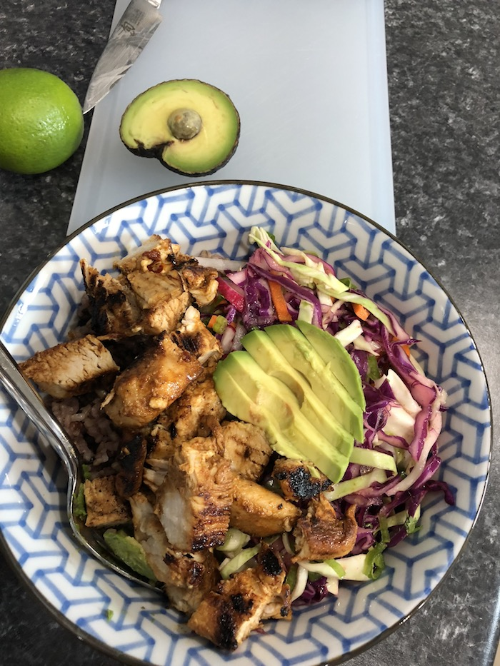 Adobo Chicken Taco Bowls (A Seat at the Table)