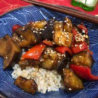 Asian Eggplant Stir-Fry