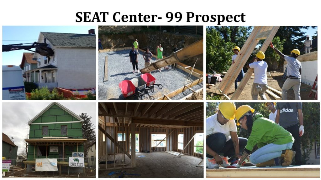 YouthBuild Schenectady at SEAT's New-Build Home Net-Zero