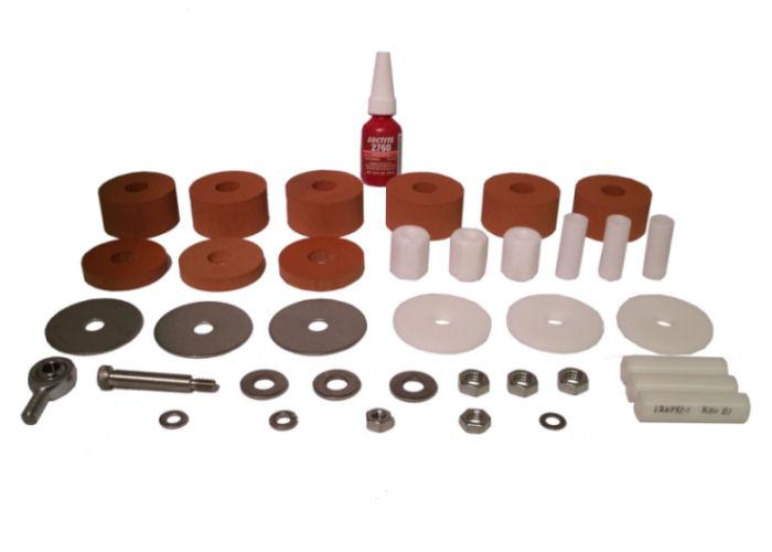 Retrofit Sorbothane Upgrade Kit, 3 point,  Rubber