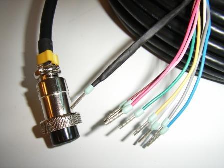 Cable F/ CPU Control box
