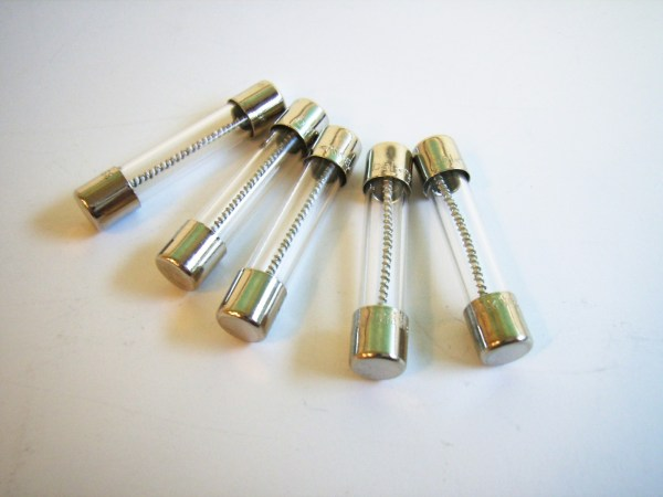 Fuse, Glass Tube 6,3x32,  7AT