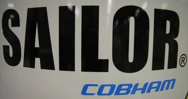 SAILOR/Cobham Branding Label F/VSAT