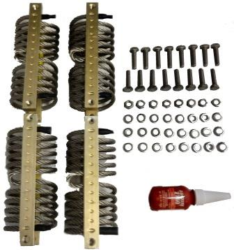 REPLACEMENT KIT, WIRE ROPE ISOLATOR, ST80/100/120