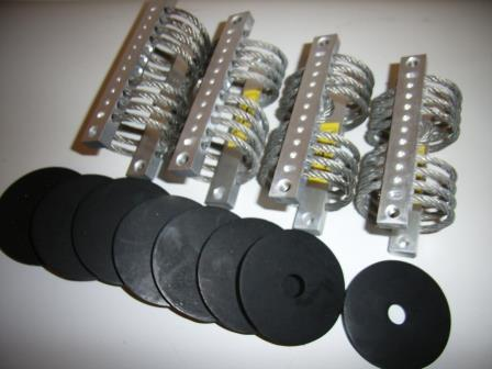 Wire Rope Damper Kit F/SAILOR 600 & 60GX