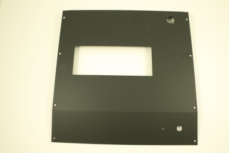 Consol Front Plate F/ 1 Unit