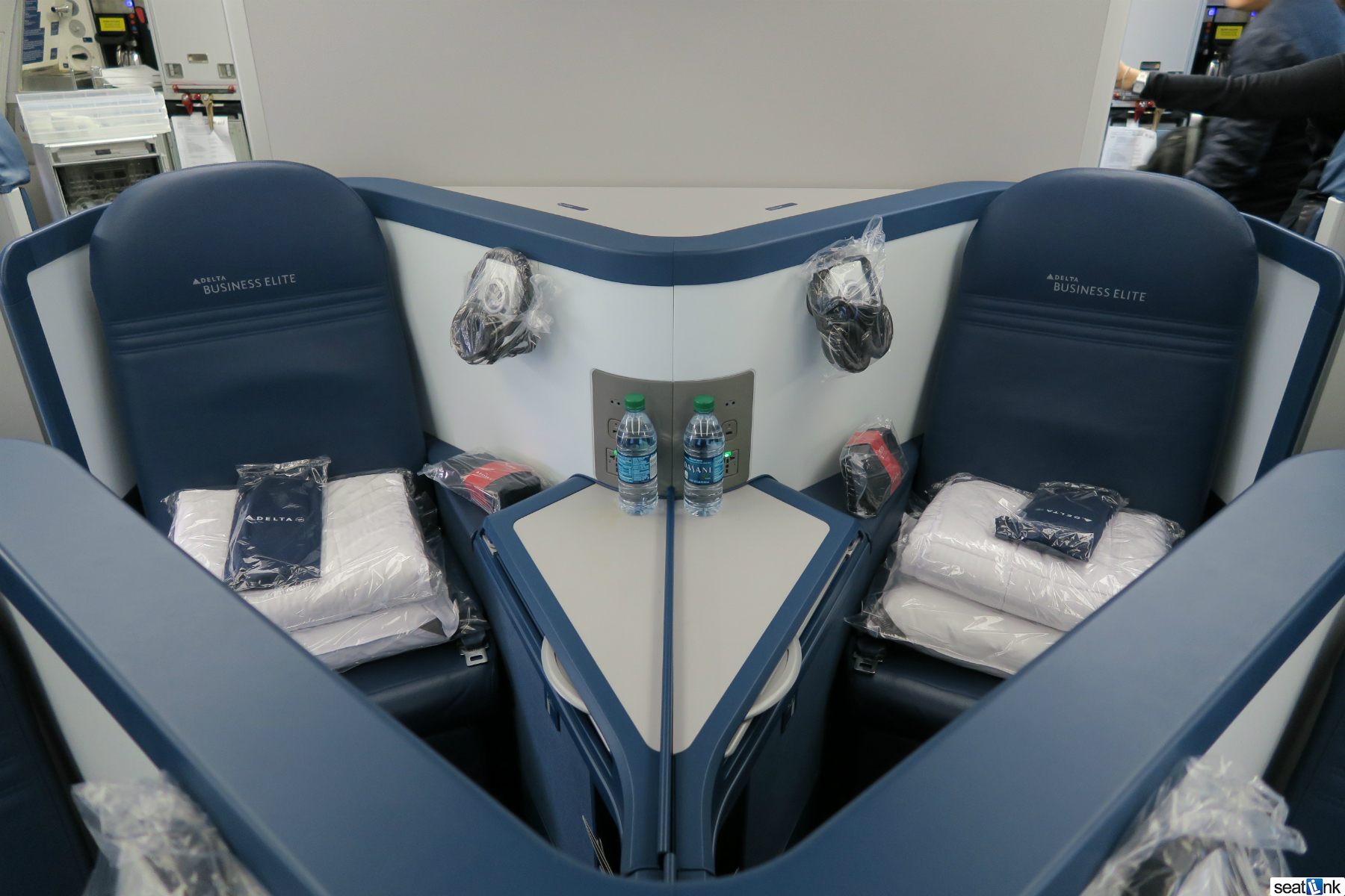 Delta One A330 Business Class Seats