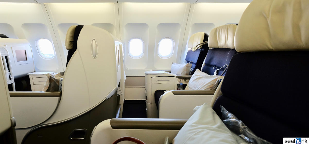 Air France A340 Business Class Review