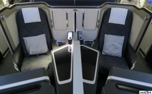 Seats 2E and 2F in British Airways First Class 787