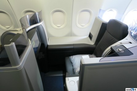 The JetBlue Mint seat/suite