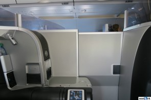 You can actually close your door in JetBlue Mint!