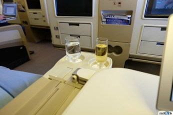 Pre-arrival champagne - why not?!