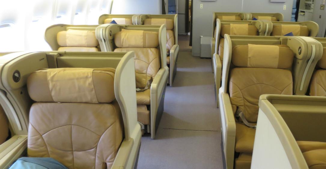Singapore 777-200 Regional Business Class