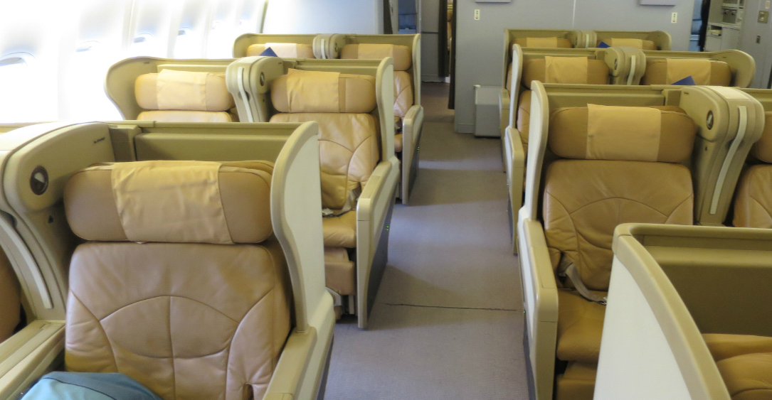 Singapore 777-200 Regional Business Class