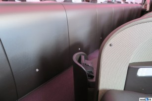 View from the seat in Virgin Atlantic Upper Class