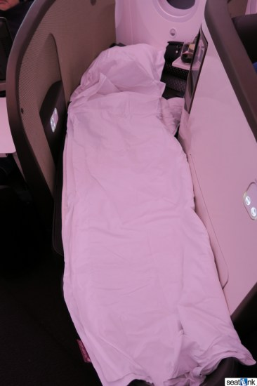 Virgin Atlantic turndown service