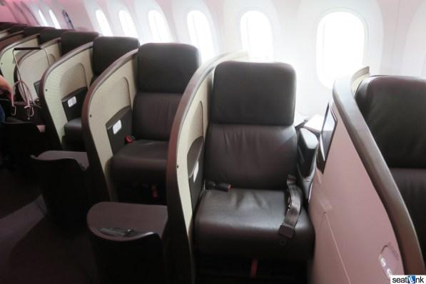 Virgin Atlantic 787-9 Upper Class seats
