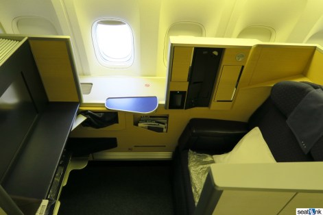 Window seat 1K in ANA first class on a 777