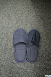 The requisite first class slippers