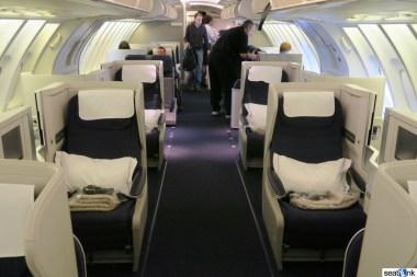 British Airways Business Class Review 747-400 Upper Deck 03