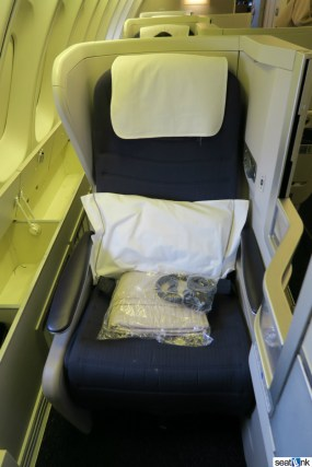 British Airways Business Class Review 747-400 Upper Deck 05