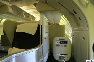 British Airways Business Class Review 747-400 Upper Deck 07
