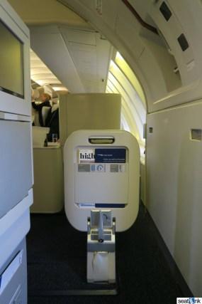 British Airways Business Class Review 747-400 Upper Deck 10