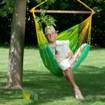 Hammock Chair Sonrisa Lime Outdoor