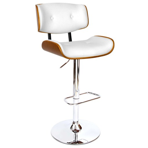white bar stool chairs